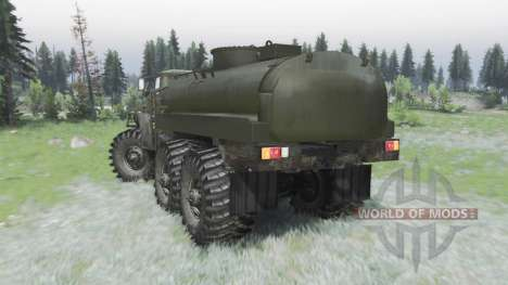 Custom Ural 4320 off-road for Spin Tires