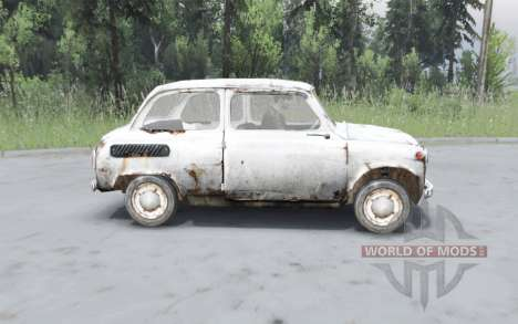 ZAZ 965 Zaporozhets of S. T. A. L. K. E. R. for Spin Tires