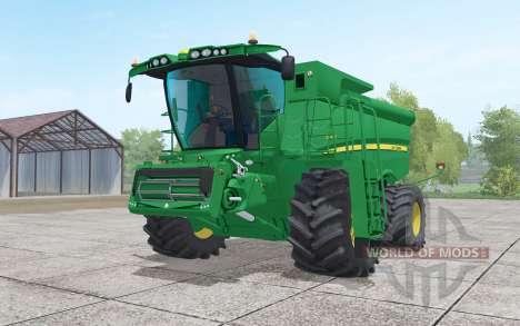 John Deere S690i with header for Farming Simulator 2017