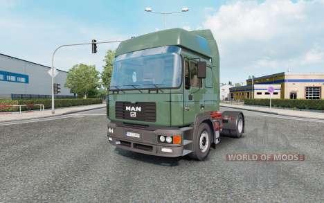 MAN F2000 19.414 1994 v1.0.5 for Euro Truck Simulator 2