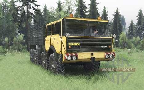 Tatra T813 TP 8x8 1967 v1.3 for Spin Tires