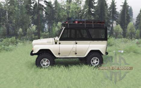 UAZ 469 beige v1.1 for Spin Tires