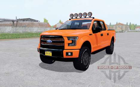 Ford F-150 Lariat SuperCrew 2015 for Farming Simulator 2017