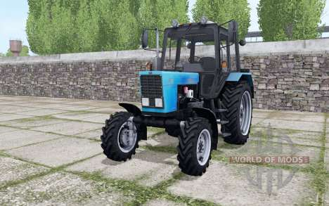 MTZ-82.1 Belarus with PKU-0.8 for Farming Simulator 2017