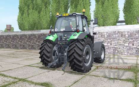 Deutz-Fahr Agrotron 620 TTV interactive control for Farming Simulator 2017