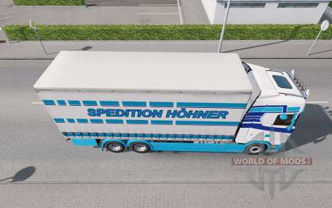 Scania S Tandem Spedition Hohner for Euro Truck Simulator 2