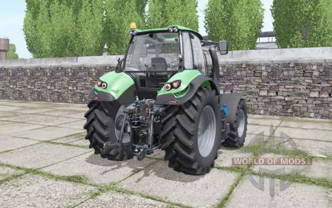 Deutz-Fahr Agrotron 6185 TTV interactive control for Farming Simulator 2017