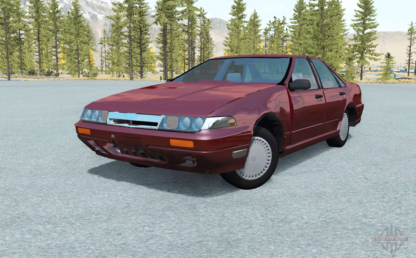Nissan Cefiro (A31) 1988 For BeamNG Drive