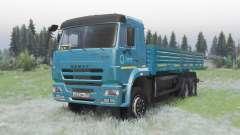 KamAZ 65117 dark blue for Spin Tires