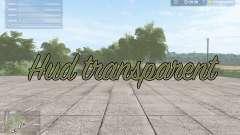Hud transparent