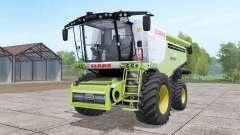 Claas Lexion 780 with headers for Farming Simulator 2017