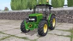 John Deere 5080M loader mounting for Farming Simulator 2017