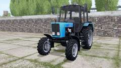 MTZ-82.1 Belarus with PKU-0.8 for Farming Simulator 2017