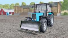 MTZ-82.1 Belarus with a blade for Farming Simulator 2015