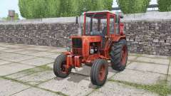 MTZ 80 Belarus tractor rear dual wheels for Farming Simulator 2017