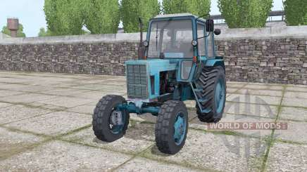 MTZ 80 Belarus tractor with front loader for Farming Simulator 2017