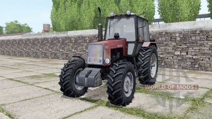 MTZ-1221 Belarus with interactive controls for Farming Simulator 2017