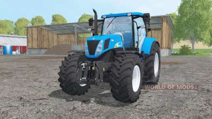 New Holland T7030 loader mounting for Farming Simulator 2015