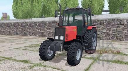 MTZ-952 Belarus with loader for Farming Simulator 2017