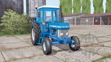 Ford 7610 loader mounting for Farming Simulator 2017