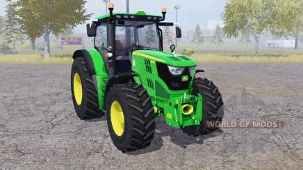 John Deere 6150R front loader for Farming Simulator 2013