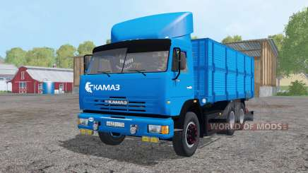 KamAZ 45143-trailer NefAZ for Farming Simulator 2015