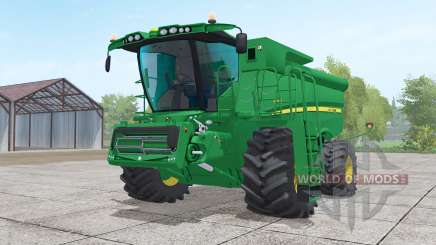 John Deere S690i with header for Farming Simulator 2017