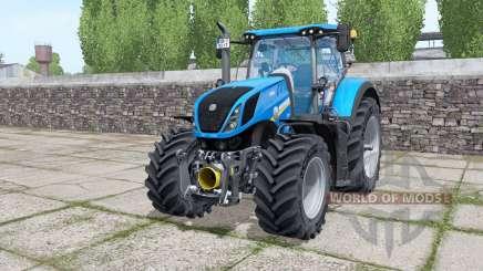 New Holland T7.290 Michelin XeoBib for Farming Simulator 2017