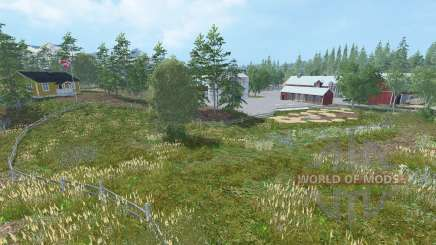 Southern Norway v1.3 for Farming Simulator 2015