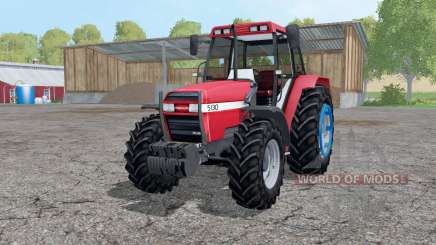 Case IH 5130 Maxxum change wheels for Farming Simulator 2015