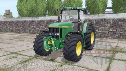 John Deere 7710 wide tyre for Farming Simulator 2017
