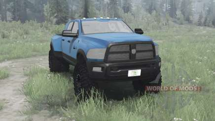 Dodge Ram 3500 Heavy Duty Crew Cab for MudRunner