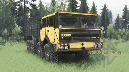 Tatra T813 TP 8x8 1967 v1.3 for Spin Tires
