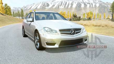 Mercedes-Benz C 63 AMG (W204) 2011 for BeamNG Drive