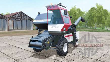 SK-5МЭ-1 Niva-Effect two headers for Farming Simulator 2017