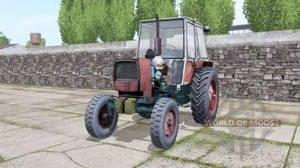 YUMZ 6КЛ with choice of wheels for Farming Simulator 2017