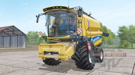 New Holland TC4.90 with header for Farming Simulator 2017