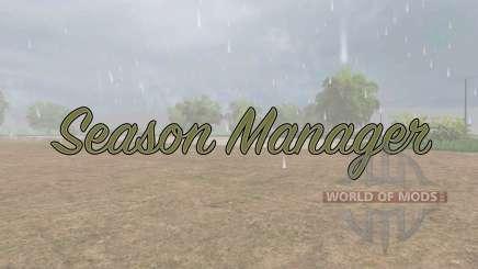 Season Manager v0.6 for Farming Simulator 2017