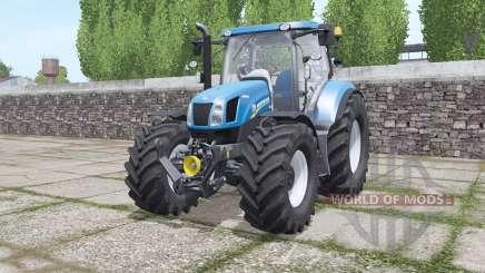 New Holland T6.070 interactive control for Farming Simulator 2017
