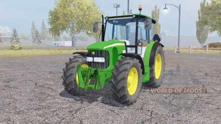 John Deere 5100R front loader for Farming Simulator 2013