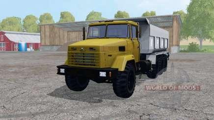 KrAZ 7140С6 for Farming Simulator 2015