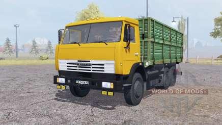 KamAZ 45143 with trailer v2.0 for Farming Simulator 2013