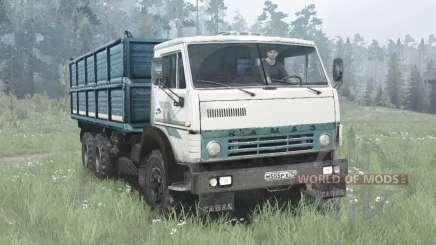 KamAZ 55102 6x4 for MudRunner
