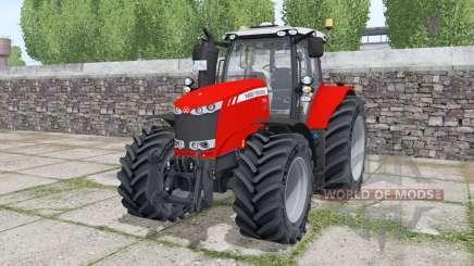 Massey Ferguson 7724 Michelin XeoBib for Farming Simulator 2017