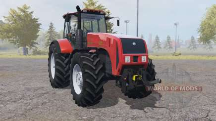Belarus 3522 with interactive controls for Farming Simulator 2013