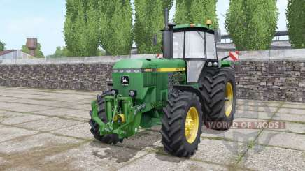 John Deere 4850 configure for Farming Simulator 2017