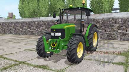 John Deere 5080M loader mounting for Farming Simulator 2017