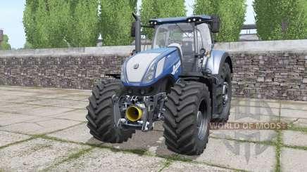 New Holland T7.290 Heavy Duty Blue Power for Farming Simulator 2017