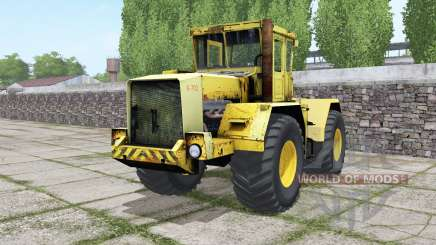 Kirovets K-702 with the choice of engine for Farming Simulator 2017