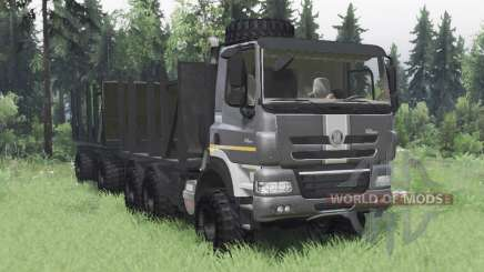 Tatra Phoenix T158-8P5 6x6 2011 dark grey for Spin Tires